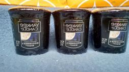 *NEW* Yankee Candle Midsummers Night lot of 3 Votive Candles