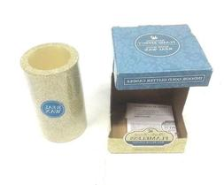 """NIB LED Indoor Gold Glitter Flameless Candle 3x5"""" Pacific Ac"""