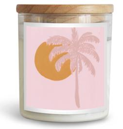 Palm Paradise Candle Home Fragrance, Decor, Great Gift