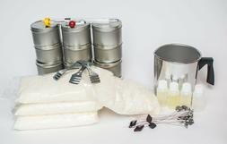 Soy Wax Candle Kit- Summer - Great for small groups make 12