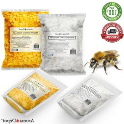 PURE 100% Natural BEESWAX PASTILLES BEADS PELLETS Candles Ch