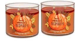 QTY 2X Bath & Body Works 3 Wick 14.5 Ounce Scented Candle Sw