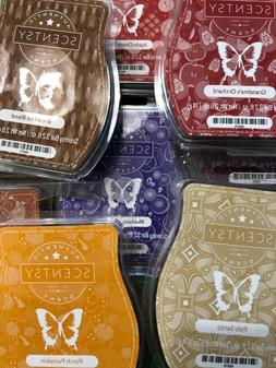 Scentsy Retired & Current Scents Candle Wax Tarts Melts Frag