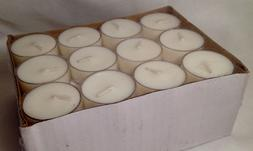 Hosley Set of 48 Unscented TeaLight Candle In Plastic Cups 4