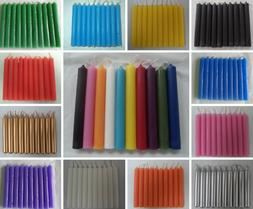 """Spell Candles 4"""" Lot of 10 - Choose from 20 Colors"""