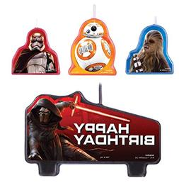 Star Wars EP Vll Candle Set - Party Supplies