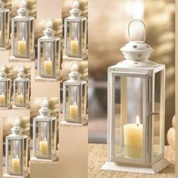 Lot of 12 Starlight Candle Lantern Floral Display Centerpiec