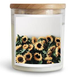 Sunflowers Candle Home Fragrance, Decor, Great Gift