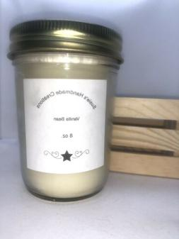 Susie's Hand Poured Highly Scented Soy Candle 8 oz jar