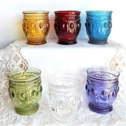 Richland Vintage Charm Candle Holders  ~~  6 Colors to Choos