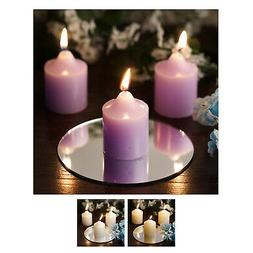 Votive  Candles for Wedding Party Birthday Centerpieces Home