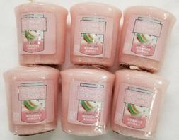Yankee Candle Votives: RAINBOW COOKIE Wax Melts Lot of 6 Pin