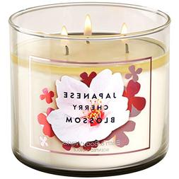 Bath and Body Works JAPANESE CHERRY BLOSSOM 3-Wick Candle 14