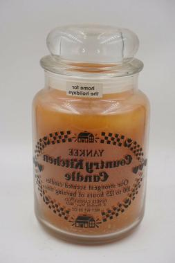 Yankee Country Kitchen Candle HOME FOR THE HOLIDAYS 22 oz Re